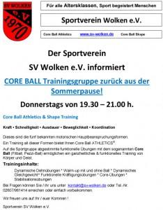 Core-Ball